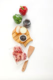 Kitchen ingredients Stock Photography