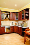 Kitchen interior Stock Images