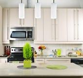 Kitchen interior Royalty Free Stock Image