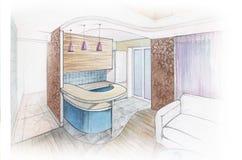 Kitchen interior Royalty Free Stock Photo