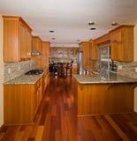 Kitchen interior. Royalty Free Stock Image