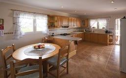 Kitchen interior design Royalty Free Stock Image
