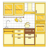 Kitchen interior design. Stock Images