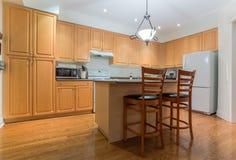 Kitchen Interior Design Stock Photography