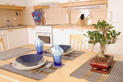 Kitchen interior detail Royalty Free Stock Image