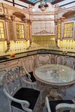 Kitchen interior in empire style Stock Photos