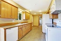 Kitchen interior in empty house Stock Photo