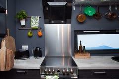 Kitchen interior Royalty Free Stock Photography