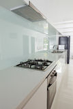 Kitchen interior in modern house d Royalty Free Stock Photo