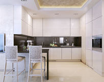 Kitchen interior, modern style Stock Photo