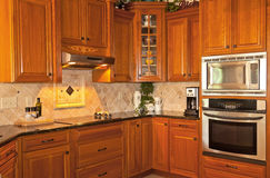 Kitchen Interior Stock Image