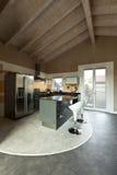 Kitchen island Stock Images