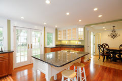 Kitchen Island Stock Image