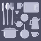 Kitchen Items – Vector illustration Royalty Free Stock Image