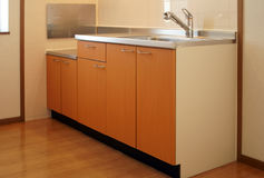 Kitchen. In Japanese apartment for rent Stock Photo