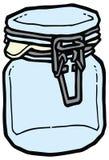 Kitchen jar  illustration Royalty Free Stock Photography