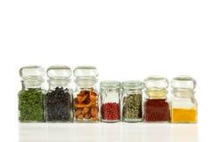 Kitchen jars Royalty Free Stock Photo