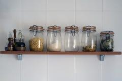Kitchen jars Royalty Free Stock Photography