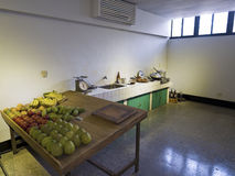 Kitchen in Jing-Mei Human Rights Memorial and Cultural Park Stock Photo