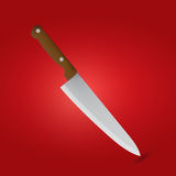 Kitchen knife stock illustration
