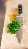 Kitchen knife Stock Photo