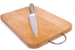 Free Kitchen Knife And Bard. Stock Photography - 8270832