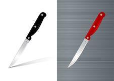 Kitchen knife  illustration Stock Photography