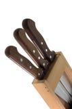 Kitchen knifes stock photos