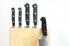 Kitchen knives Stock Image