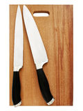 Kitchen knives Royalty Free Stock Photo