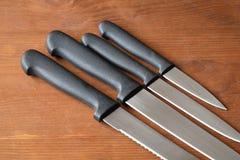 Kitchen Knives Set Stock Photos
