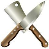 Kitchen knives Royalty Free Stock Photos