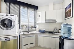 Kitchen and laundry room stock photos