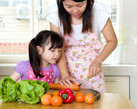 Kitchen lifestyle Royalty Free Stock Image
