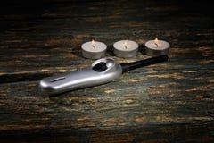 Kitchen lighter Stock Photos