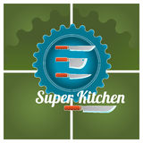 Kitchen logo Stock Photos
