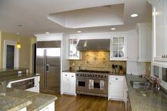 kitchen luxurious modern remodeled Στοκ Φωτογραφίες