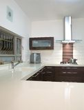 Kitchen luxury design Stock Photography