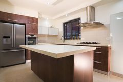 Kitchen luxury design Royalty Free Stock Image