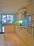 Kitchen in Luxury UK home 1 Stock Photos
