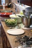 Kitchen before meal Royalty Free Stock Photo
