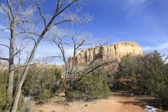 Kitchen Mesa New Mexico Stock Image