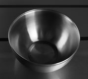 Kitchen mixing deep stainless steel Royalty Free Stock Photography