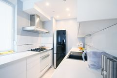 Kitchen modern interior Stock Image