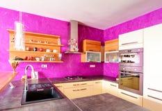 Kitchen modern stock image