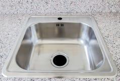kitchen modern sink Στοκ φωτογραφία με δικαίωμα ελεύθερης χρήσης