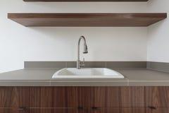 kitchen modern sink Στοκ Εικόνα