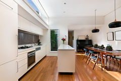The kitchen with modern style Royalty Free Stock Photo