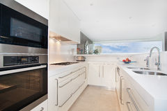 The kitchen with modern style Royalty Free Stock Image