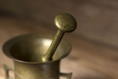 Kitchen mortar Royalty Free Stock Photos